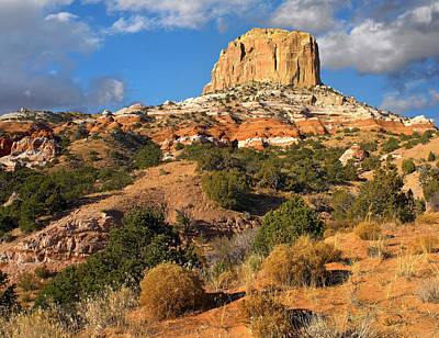 Arizona Photograph - Square Butte Near Kaibito, Arizona by Tim Fitzharris/ Minden Pictures