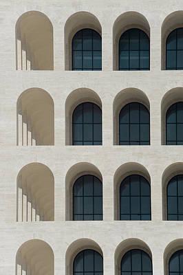 Photograph - Square Coliseum Eur by Paologaetano