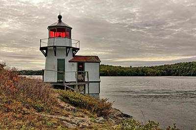 Photograph - Squirrel Point Light by Kyle Lee