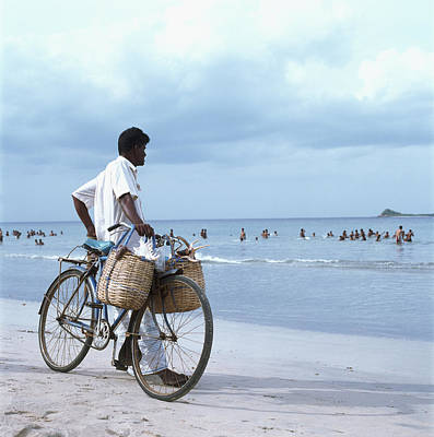 Photograph - Sri Lanka, Trincomalee, Local Man by Martin Puddy