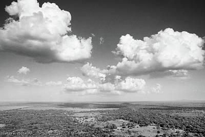 Sri Lankan Clouds In Black Art Print