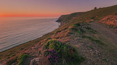 Photograph - St Agnes Sunset by Eddy Kinol