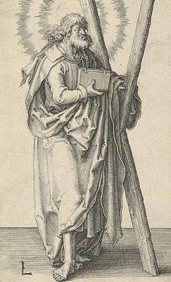 Relief - St. Andrew by Lucas van Leyden