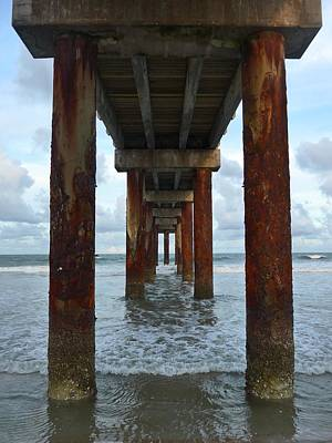 Photograph - St. Augustine Ocean Pier by James Calemine