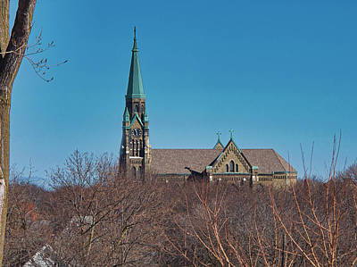 Photograph - St Casimir Roman Catholic Church - Milwaukee - Wisconsin by Steven Ralser