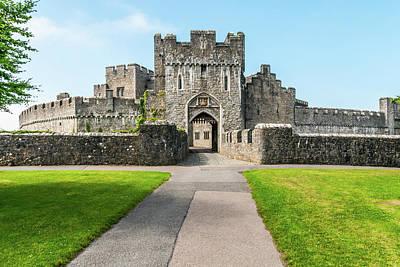 Lovely Lavender - St Donats Castle Gateway by Steve Purnell