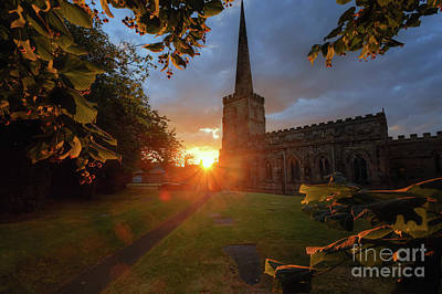 Photograph - St Edward King And Martyr Church by Yhun Suarez