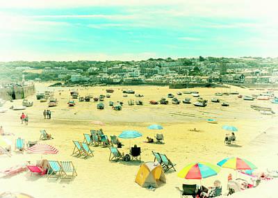 Photograph - St. Ives Beach by Doug Matthews