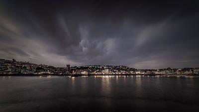 Photograph - St Ives Cornwall - Dramatic Sky by Eddy Kinol