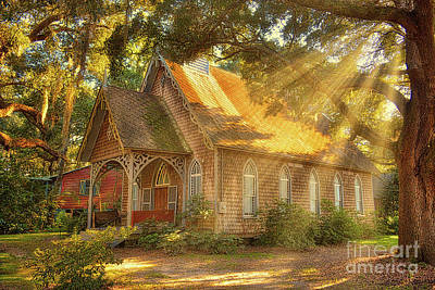 Photograph - St. James Santee Episcopal Chapel Of Ease by Kathy Baccari