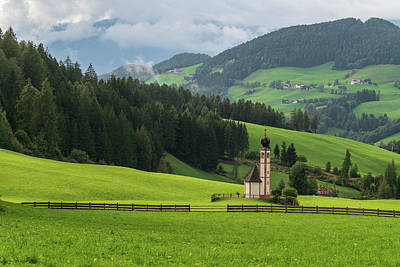 Photograph - St Johann From The East by James Billings