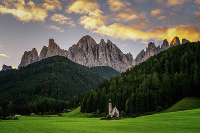 Photograph - St Johann Sunrise by James Billings