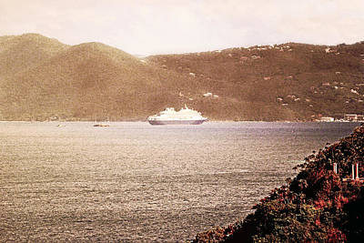 World War 2 Action Photography - St. John Anchorage by Climate Change VI - Sales