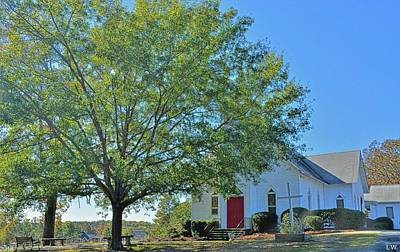 Photograph - St. John Lutheran Church Irmo South Carolina 2 by Lisa Wooten