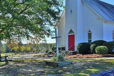 Photograph - St. John Lutheran Church Irmo South Carolina 3 by Lisa Wooten