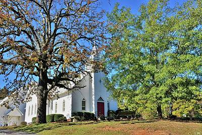 Photograph - St. John Lutheran Church Irmo South Carolina by Lisa Wooten