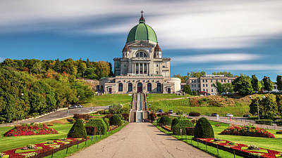 Photograph - St Joseph Oratory Of Mount Royal by Pierre Leclerc Photography