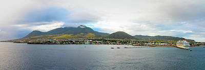 Photograph - St. Kitts Basseterre Panorama by Kristia Adams