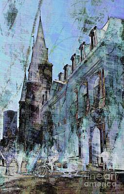 Photograph - St. Louis Cathedral by Marcia Lee Jones