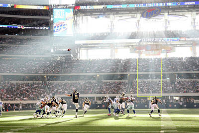 Photograph - St. Louis Rams V Dallas Cowboys by Layne Murdoch