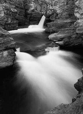 Photograph - St Mary Falls by By Sathish Jothikumar