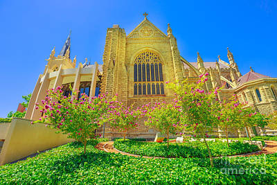 Photograph - St Marys Cathedral Perth by Benny Marty