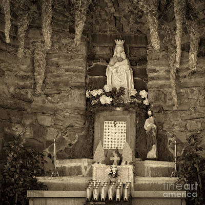 Photograph - St. Mary's Grotto  by Imagery by Charly