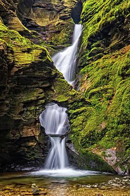 Photograph - St Nectan's Kieve Waterfall, Cornwall by David Ross
