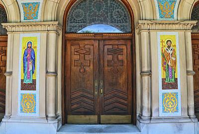 Photograph - St. Nicholas Ukranian Catholic Church # 2 - Chicago by Allen Beatty