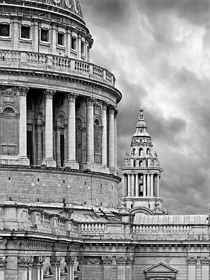 Photograph - St Pauls Cathedral Details by Gill Billington