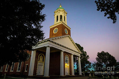 Photograph - St. Paul's Church - Augusta Ga by Sanjeev Singhal