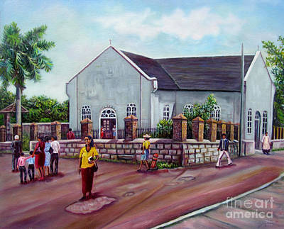 Painting - St. Peters Church_updated  by Ewan McAnuff