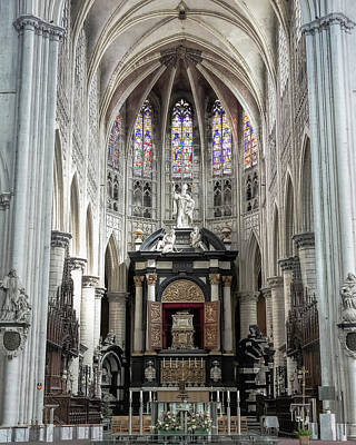 Photograph - St. Rumbold's Cathedral Interior by Jemmy Archer