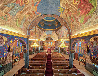 Photograph - St. Sava Serbian Orthodox Cathedral by Adam Kilbourne
