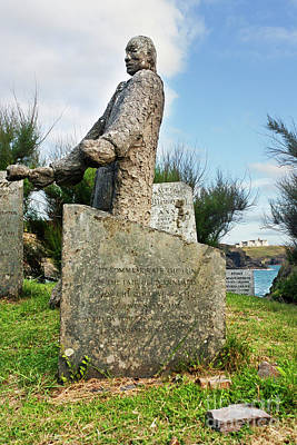 Photograph - St Wynwallow Cornwall by Terri Waters