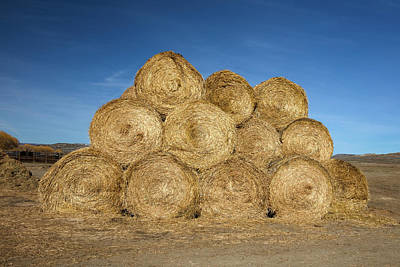 Photograph - Stack Of Bales by Todd Klassy