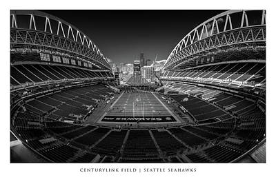 Sports Royalty-Free and Rights-Managed Images - Seattle Seahawks #68 by Robert Hayton