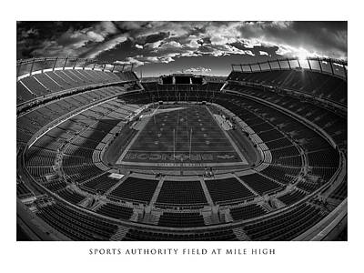 Sports Royalty-Free and Rights-Managed Images - Stadium Art Series - Sports Authority Field at Mile High by Robert Hayton