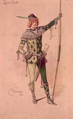 Stage Costume Art Print by C. Wilhelm