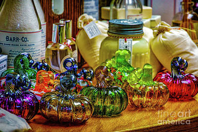 Photograph - Stained Glass Jars by Nick Zelinsky