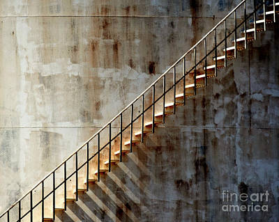 Photograph - Staircase 2017 by Guntis Lauzums
