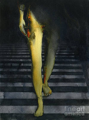 Painting - Staircase by Graham Dean