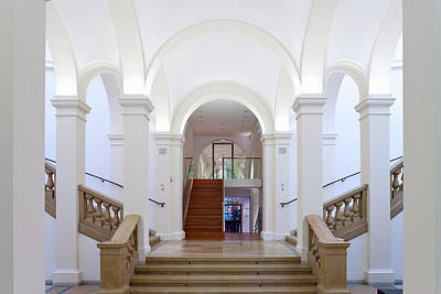 Photograph - Staircase, Museum Fuer Kunst Und by H. & D. Zielske / Look-foto