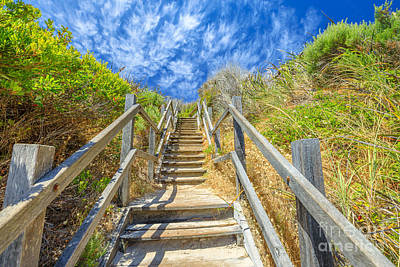 Photograph - Staircase To Greens Pool by Benny Marty