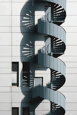 Photograph - Stairs by Gerard Hermand