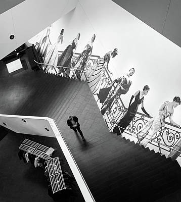 Photograph - Stairs To Dior by Marilyn Hunt