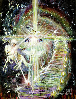 Animal Paintings David Stribbling - Stairway to Heaven-2nd Coming by Bonnie Marie