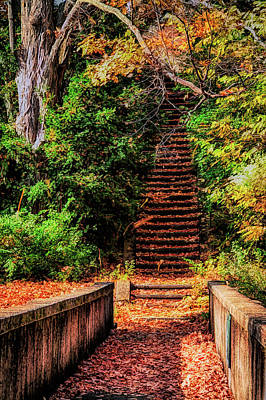 Photograph - Stairway To The Sky by Jeff Folger