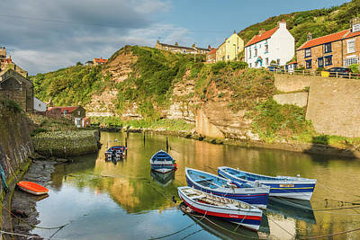 Photograph - Staithes, Yorkshire by David Ross