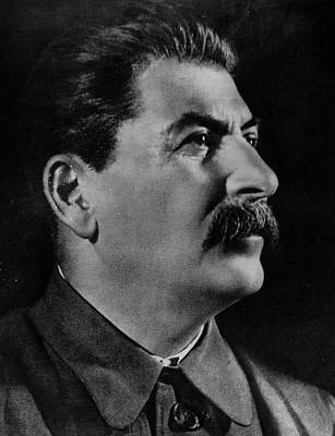 Photograph - Stalin by Hulton Archive